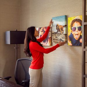 Unique Ways to Showcase Artwork with Canvas Wall Display