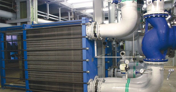 What is a finned tube heat exchanger?